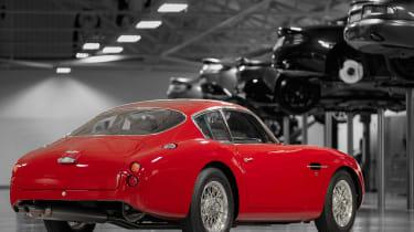 Aston Martin DB4 Zagato continuation - rear quarter