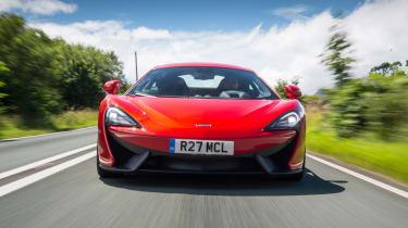 McLaren 12C - front