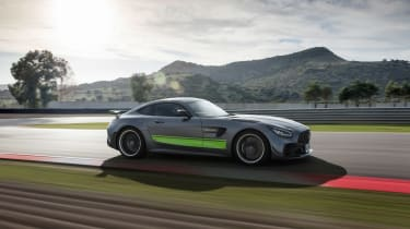 Mercedes-AMG GT R Pro review - side