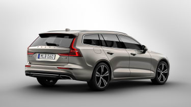 Volvo V60 press - rear quarter
