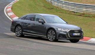 Audi S8 prototype - front quarter