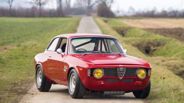 Alfa Romeo Giulia Sprint GTA - Front