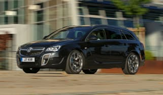 Vauxhall Insignia VXR SuperSport black