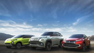 Mitsubishi plug-in hybrid concepts for Tokyo show