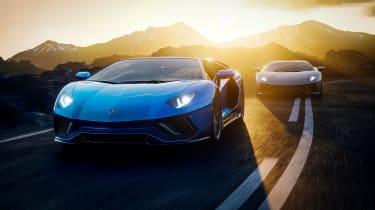 Lamborghini Aventador LP780-4 Ultimae – pair