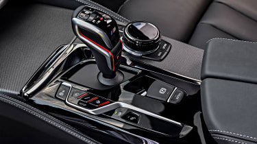 BMW M5 Competition review - console