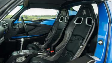 eCoty Lotus Elise Sport 220 - interior