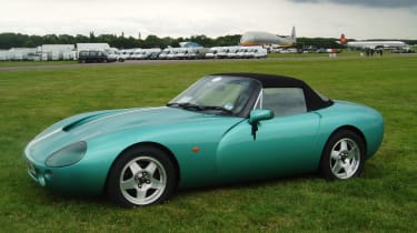 TVR Griffith - front quarter