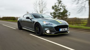 Aston Martin Rapide AMR driving