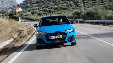 Audi A1 First Edition - blue nose