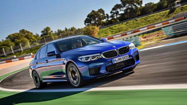 BMW M5 review - race