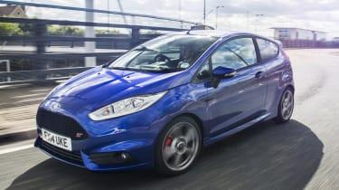 New top spec Ford Fiesta ST3 blue