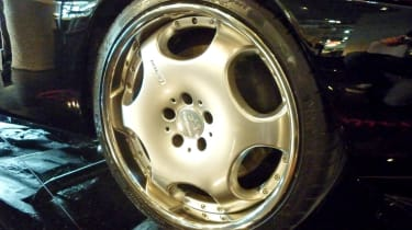 400bhp Mercedes 190SL CMH Carlsson alloy wheel