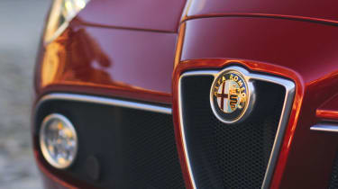 Alfa Romeo 8C Spider headlight