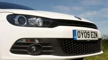 VW Scirocco TSI spoiler