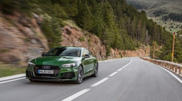 Audi RS5 - front tracking