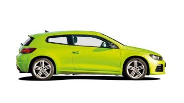 VW Scirocco R side profile