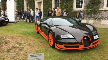 Goodwood Festival of Speed - Bugatti Veyron