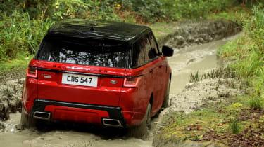 Range Rover Sport - off road rear