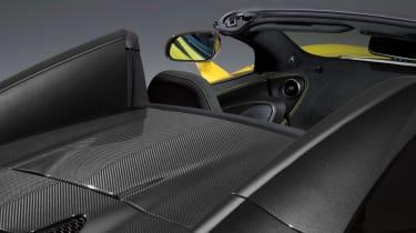 McLaren 570S Spider - rear deck