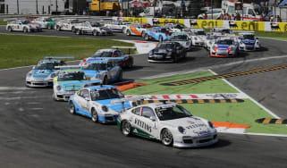 Porsche Supercup grid corner pack