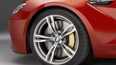 2012 BMW M6 alloy wheel brakes