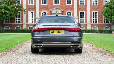 Audi A8 UK - rear