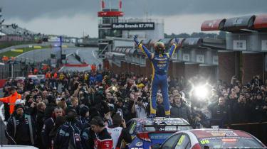 British Touring Cars 2013 champion Andrew Jordan Brands Hatch