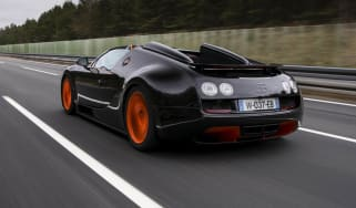 Bugatti Veyron Vitesse record video