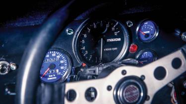 Mazda RX-7 Evo Group B Works - tacho