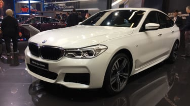 BMW 6-series GT live - front