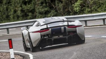 2013 Jaguar C-X75 prototype rear cornering