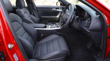 Kia Stinger GT-S UK - cabin