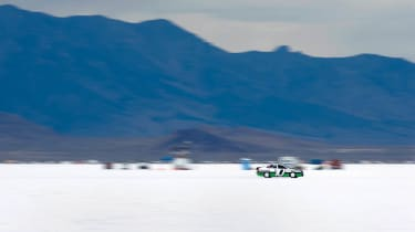 227mph Skoda at Bonneville Speed Week
