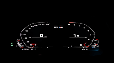 BMW X5M Competition - dials