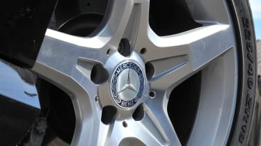 Mercedes-Benz SLK 250 CDI AMG Sport alloy wheel