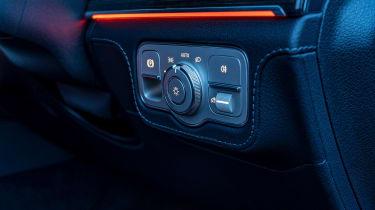 Mercedes GLS400d UK drive - lights