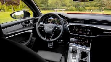 Audi S6 TDI - dash