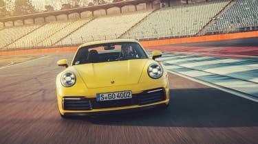 992 Porsche 911 Carrera S review - front