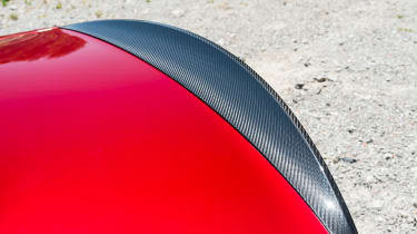 Maserati GranTurismo - rear spoiler