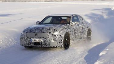 2022 BMW M2 spied front