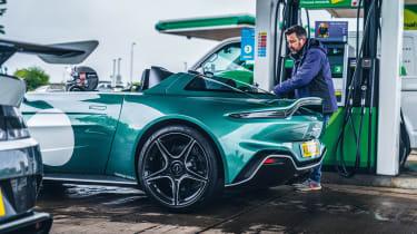 Aston Martin Victor and V12 Speedster