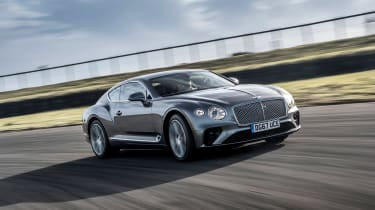 Continental GT - front quarter dynamic