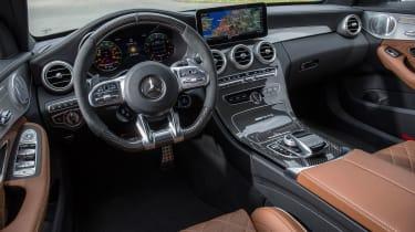 2019 Mercedes-AMG C63 – interior