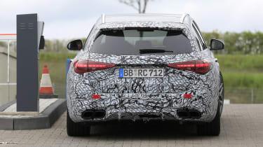 2022 Mercedes-AMG C63 S Estate – rear
