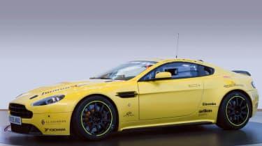 Aston Martin V12 Vantage N24 racing car