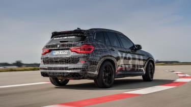 BMW X3 M and X4 M prototypes - rear quarter