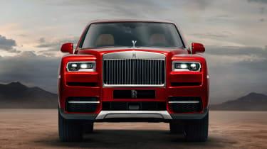 Rolls Royce Cullinan - nose