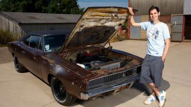 Jonny Smith & his 1968 Dodge Charger