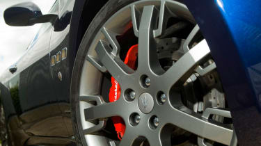 Harry Metcalfe's Maserati GranTurismo S alloy wheel